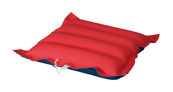 High Colorado coussin de chaise tissu rouge-bleu
